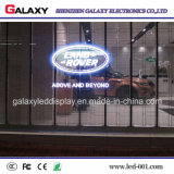 Écran/mur/panneau-réclame/signe/panneau polychromes transparents P3.75/P5/P7.5/P10/P16/P20/en verre/guichet DEL affichage vidéo pour la publicité