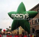 パレードの巨大で膨脹可能な星、星の形のヘリウムの気球の上の販売K7110