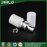 20ml 30ml 50ml 60ml 80ml 100ml 150ml Plain o frasco branco de Alminum da cor com o atomizador cosmético do perfume do licor do pulverizador de prata da bomba