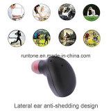Наушник поддержек 2 шлемофона Bluetooth 4.1 близнецов миниый