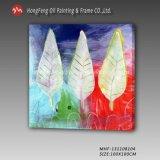 현대 예술 화포에 벽 또는 홈 또는 사무실 훈장을%s 다채로운 100% 손 유화