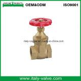 Chinesischer fabrikmäßig hergestellter geschmiedeter Messingflansch-Absperrschieber (AV4035)