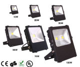 30W 50W 100W 150W IP65 impermeabilizan el reflector del LED con Philip SMD LED