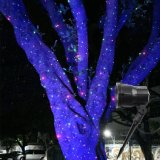 Свет праздника лазера ливня ночи звезды