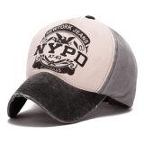 Gorra de béisbol impresa tela cruzada bien nacida del algodón (YKY3426)