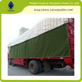 Het Canvas Tarps, het Waterdichte Geteerde zeildoek van de Fabrikant van China van pvc voor de Dekking van de Vrachtwagen