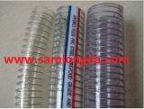 Boyau de fil d'acier de PVC (15*22)