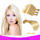 Hochwertiges reales Remy brasilianisches blondes Karosserien-Wellen-Haar