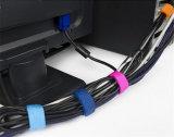 De Waterdichte Banden van uitstekende kwaliteit van de Kabel van de Klitband van de Haak &Loop voor Zakken
