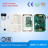 V&T E5-H小型Seriesgeneralの使用AC駆動機構15kw-HDへの組み込みブレーキ制御3pH 0.4