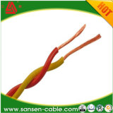 Kurbelgehäuse-Belüftung flexibler LSZH verdrehter elektrischer/elektrischer Strom-Kabel-Isolierdoppeldraht
