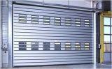 Balanceo rápido duro de aluminio del garage de la seguridad encima de la puerta