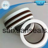 기계적 밀봉 펌프를 위한 강화된 테플론 PTFE v 모양 패킹 인발이 찍힌 반지