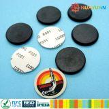 Rastreamento de ativos à prova de água ABS RFID Coin Token Tag