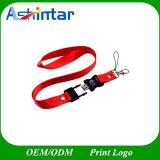 고속 플라스틱 USB2.0/USB3.0 USB 지팡이 방아끈 USB 섬광 드라이브