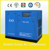 las certificaciones de 132kw 17.8~24.5m3/Min Ce&ISO9001&SGS&TUV inmóviles dirigen el compresor de aire conducido del tornillo hecho en China