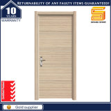 Painel moldado de madeira sólida personalizado Porta de madeira