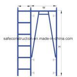Steiger van het Frame van de Flat van Ce SGS Verklaarde voor Decoratie