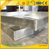 Aluminiumfabrik kundenspezifische CNC-Präzisions-Ausschnitt-Schweißens-Aluminium-Rahmen