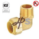 O NSF empurra o cotovelo apto de Fnpt coneta o acoplamento sem chumbo