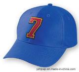 Gorra de béisbol promocional de los deportes del algodón de encargo de Burshed