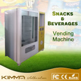 Máquina expendedora inteligente para anuncios