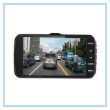 HD cheios 1080P Dual a câmera DVR do carro da lente de câmera com visão noturna