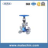 Soupape à vanne matérielle d'exécution manuelle de la précision A216 Wcb d'OEM