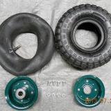 Rotelle pneumatiche del pneumatico 4.00-8 di gomma con il tubo esterno 4pr