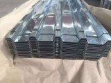 冷間圧延された亜鉛上塗を施してある波形の電流を通された屋根を付けるシート