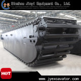 Pontoon Jyp-176를 가진 중국 High Quality Amphibious Excavator
