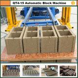 Qt4-15b에 의하여 사용되는 구체적인 벽돌 만들기 기계 저가