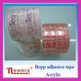 BOPP White & Clear Adhesive Circle Tape per Carton Sealing