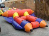 Fliegen-Fisch-Gefäß-Wasser spielt aufblasbares Boot für 4 Leute