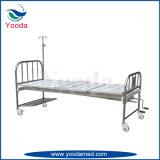 足車が付いている経済的なステンレス鋼2機能手動忍耐強いベッド