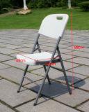 Banquet bon marché blanc en plastique de pliage de HDPE dinant la chaise portative