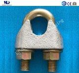전기 Galv. DIN741 가단성 주물 철사 밧줄 클립