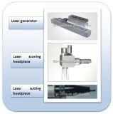 Máquina fraccionaria del retiro de las marcas de estiramiento del laser del CO2 del tubo del metal