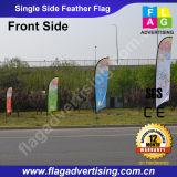 Отсутствие флага пера пляжа MOQ изготовленный на заказ рекламируя