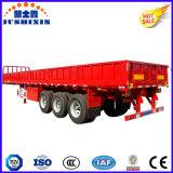 Do fabricante de Jushixin de 3 eixos da cerca da carga reboque Best-Selling Semi