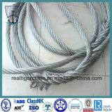 Веревочка стального провода для поднимать и подниматься