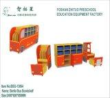 Armário do jardim de infância da mobília de escola do projeto moderno do MDF