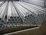 Conduttura d'acciaio saldata galvanizzata