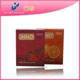 OEM Condom Brandとの散りばめられたMale Latex Enlarging Condom