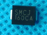 Elektronisches Teil 1500W, 5-188V Do-214ab Fernsehapparat-Gleichrichterdiode Smcj45A