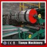 Metallfarben-Stahlrollenzwischenlage-Panel-Dach, das Maschinerie bildet