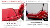 Самокат Jiexg миниый складной электрический с безщеточным мотором 500W, E-Scooter. рамки алюминиевого сплава авиации, зеленых и безопасных