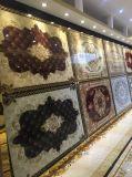 Azulejo cristalino de la alfombra de la porcelana del resplandor con la luz fluorescente