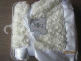 2015 cobertor novo da venda por atacado 100%Polyester Sherpa do teste padrão