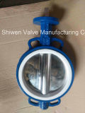 Тип выровнянный PTFE вафли тефлона клапан-бабочка при одобренный ISO